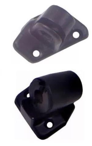 Sapata Suporte Espelho Retrovisor Caminhão Vw (Exceto Constellation) - Kit Esquerdo