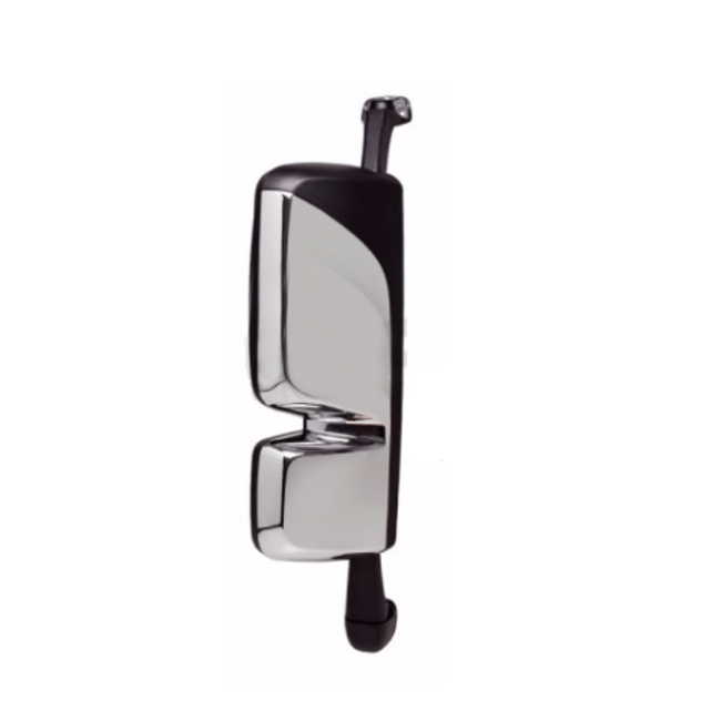 Espelho Retrovisor Mb Actros Elétrico Com Desembaçador Cromado - Com Suporte