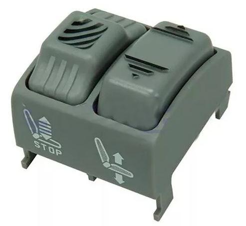Botão Interruptor Altura Banco Ar Scania 94 114 124 Série 4 Série 5 De 2000 Em Diante