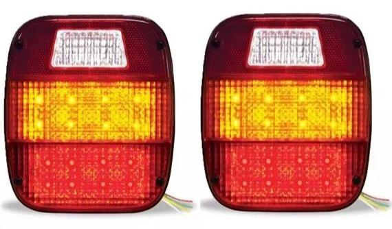 Lanterna Traseira Led Ford Cargo - Par