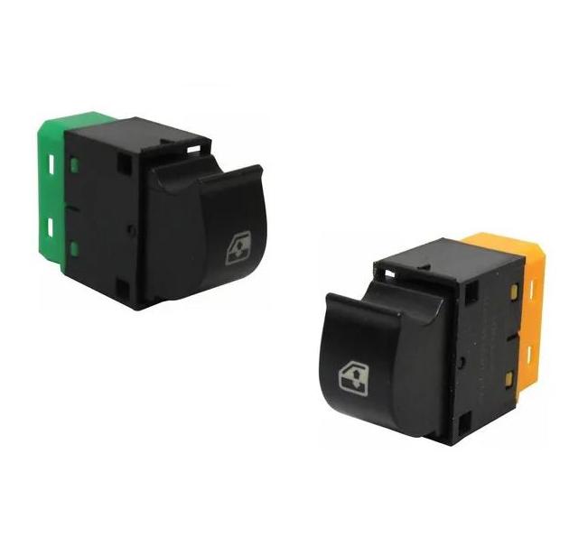 Botão Interruptor Vidro Elétrico Iveco Stralis Tector - Par