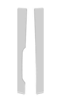 Defletor Lateral Cegonheiro MB Accelo de 2014 em diante (com suporte)