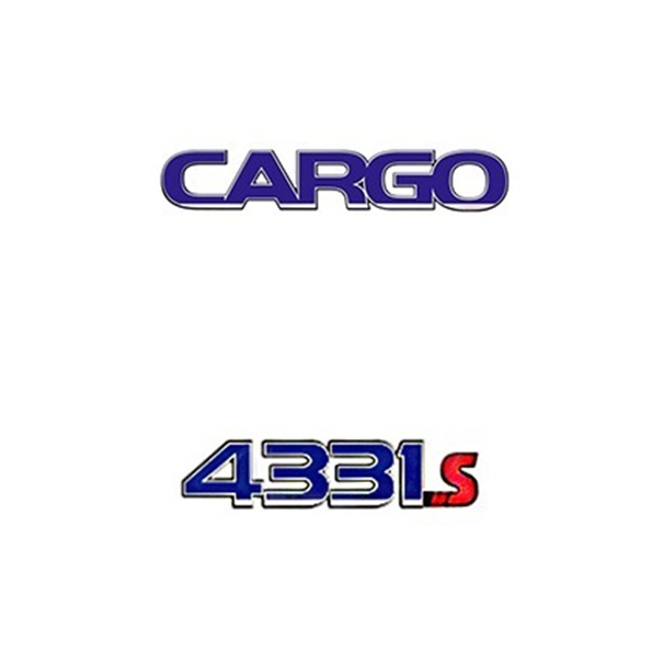 Emblema Ford Cargo 4331S - Kit