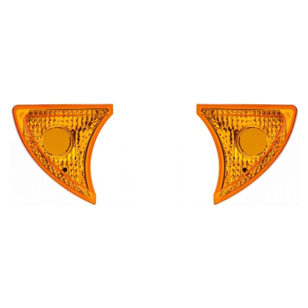 Lanterna Seta Iveco Tector Cursor Stralis De 2008 Em Diante Amarela - Par