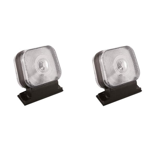 Lanterna Seta Ford Cargo Até 2012 (Cabine Antiga) Cristal - Lateral Coluna (Par)