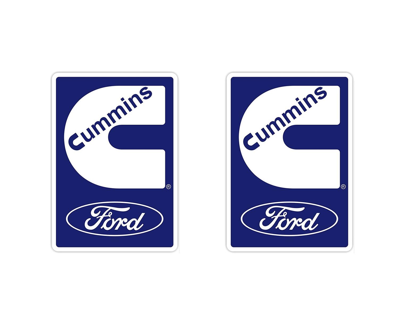 Emblema Ford Cargo Cummins - Par