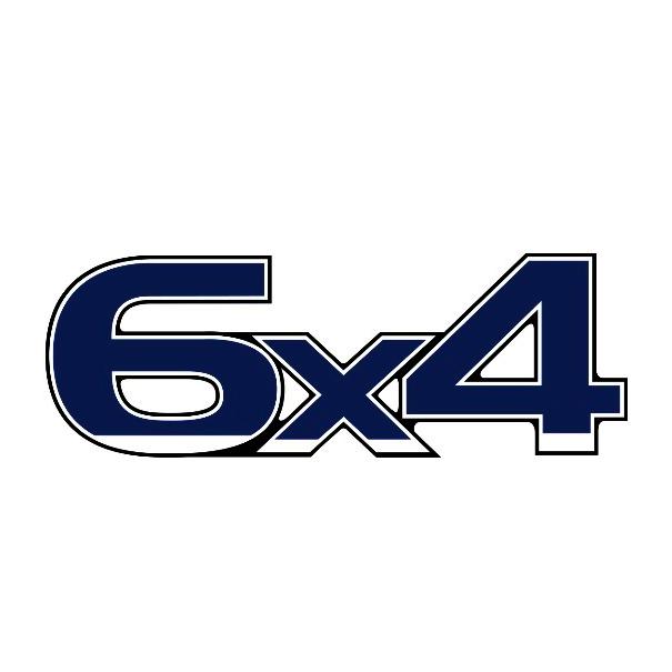 Emblema Ford Cargo 6X4
