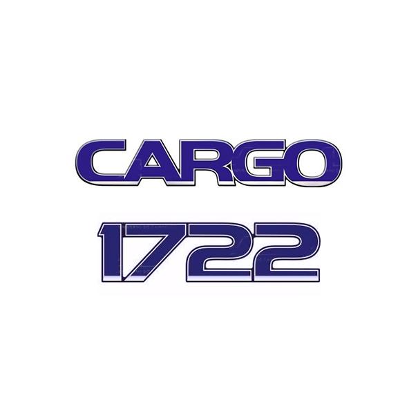 Emblema Ford Cargo 1722 - Kit