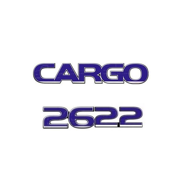 Emblema Ford Cargo 2622 - Kit
