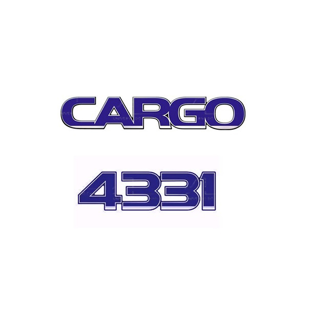 Emblema Ford Cargo 4331 - Kit