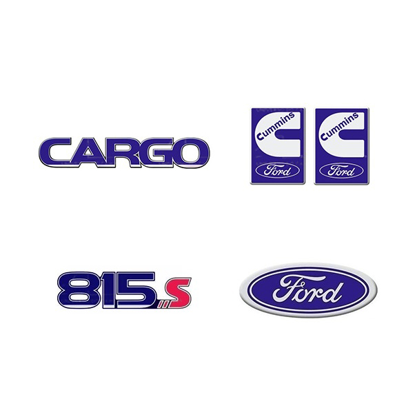 Emblema Ford Cargo 815S Cummins - Kit