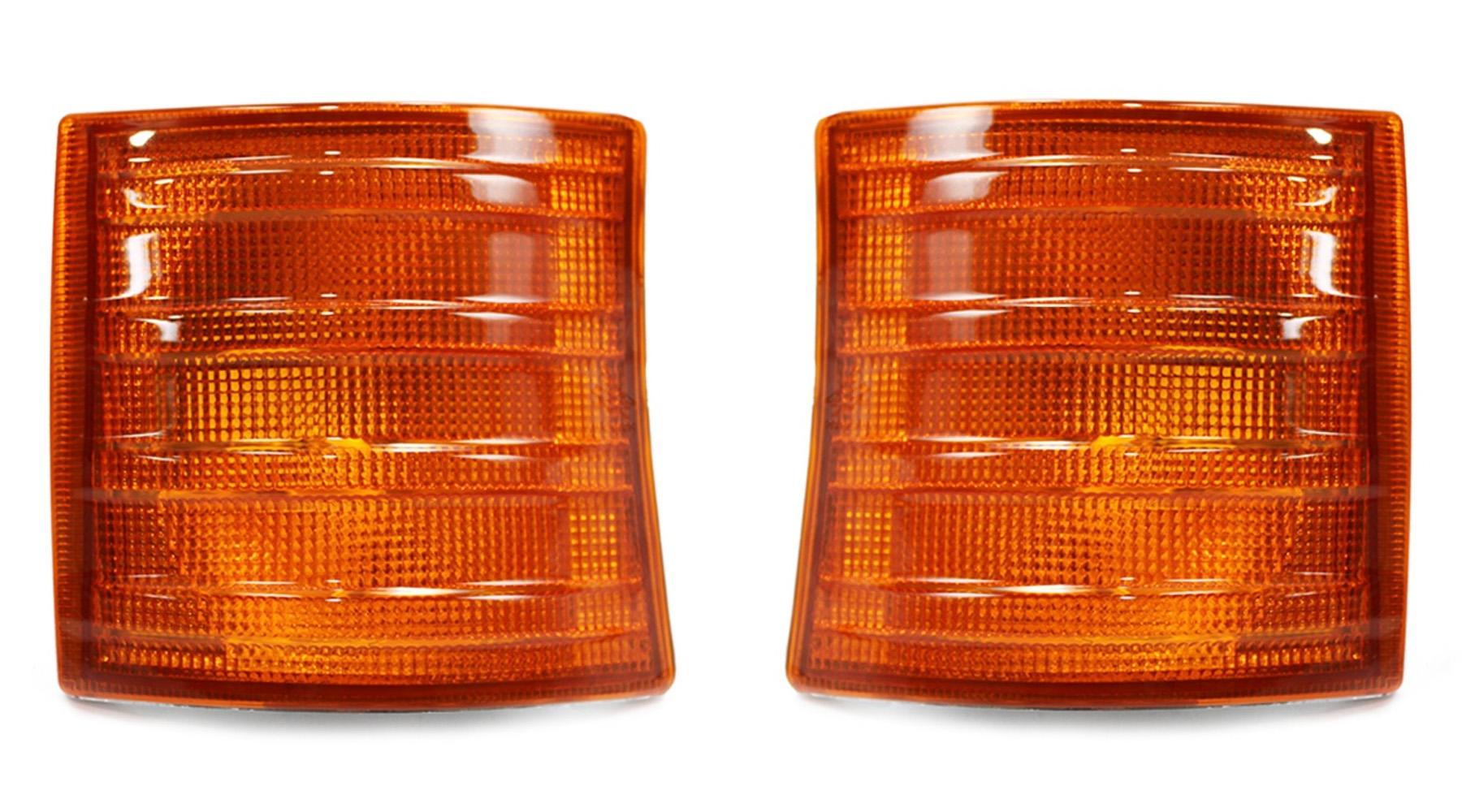 Lanterna Seta Mb 709 710 912 914 Bicudinho - Amarela (Par)