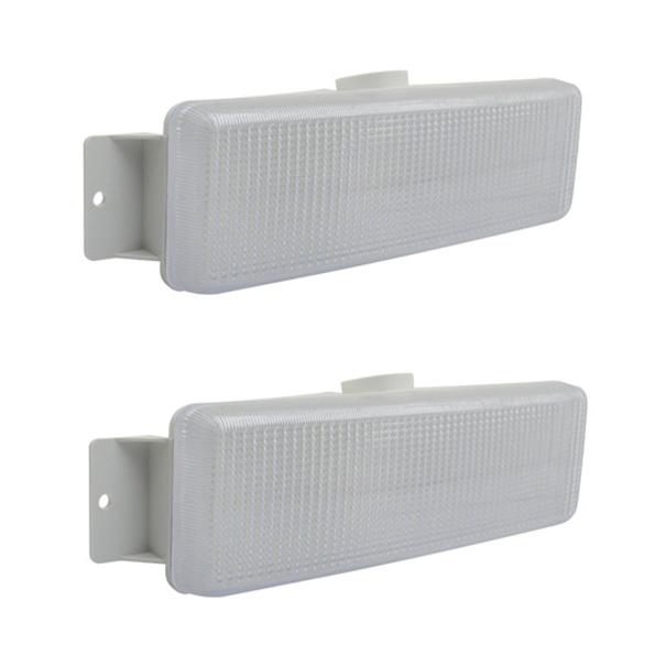 Lanterna Seta Ford Cargo Até 2012 (Cabine Antiga) Cristal - Dianteira (Par)