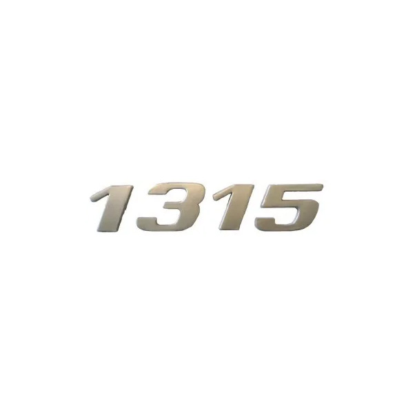 Emblema Mb Atego 1315 Cromado