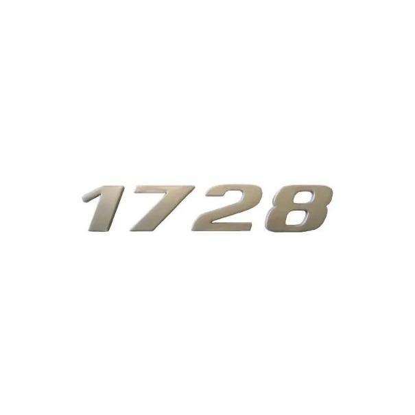 Emblema Mb Atego 1728 Cromado