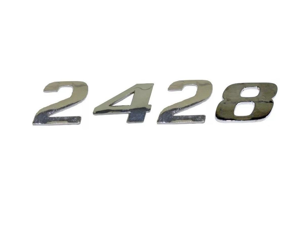 Emblema Mb Atego 2428 Cromado
