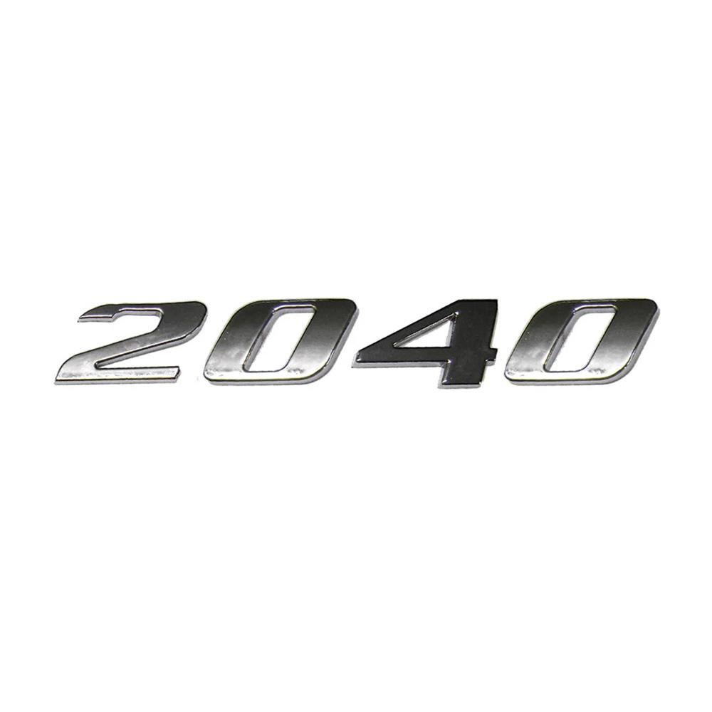 Emblema Mb Axor 2040 Cromado