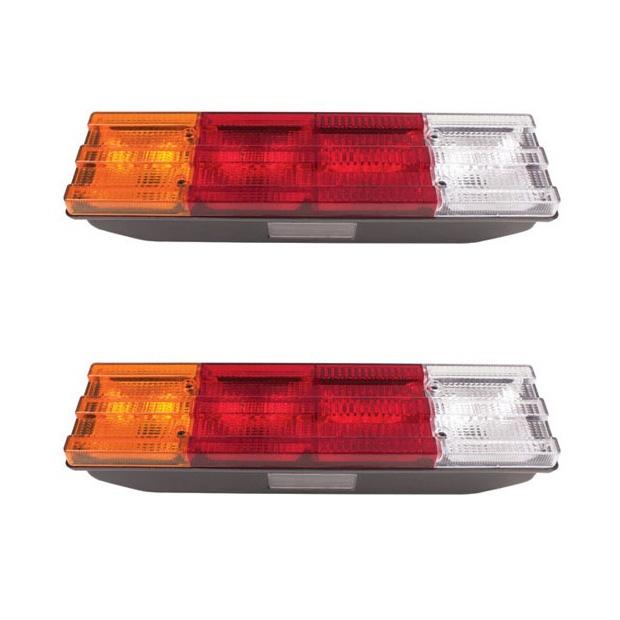 Lanterna Traseira Caminhão Mb (Exceto Axor) - Par