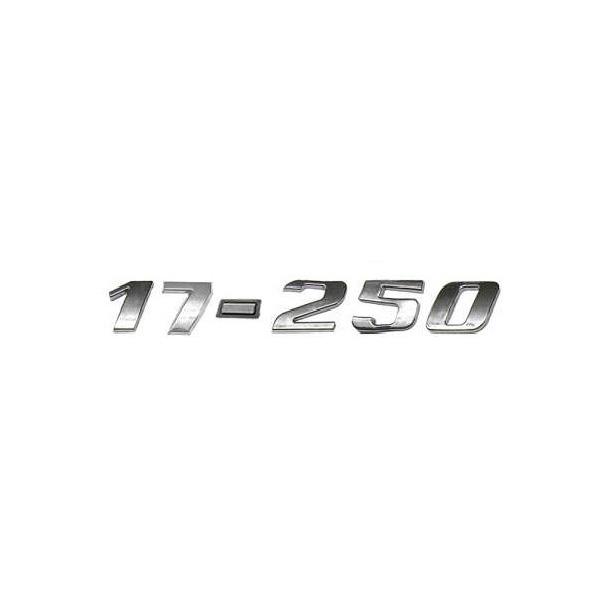 Emblema 17250 Vw Constellation Cromado