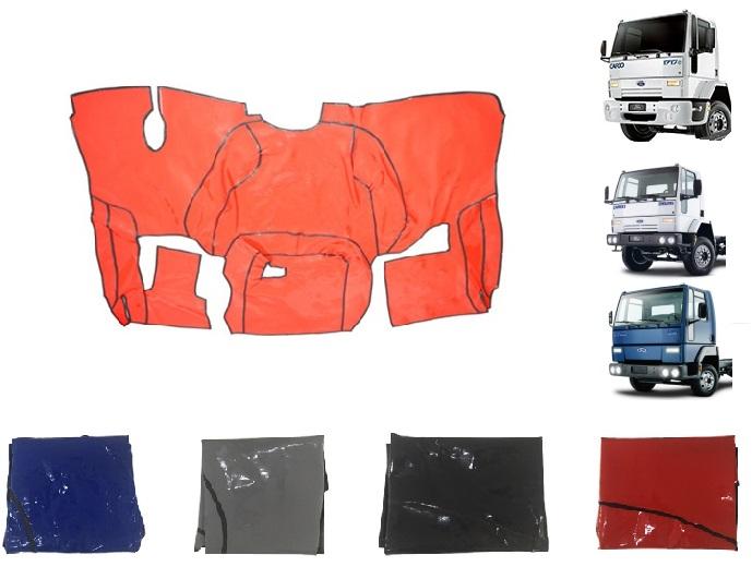 Tapete Ford Cargo Até 2012 (Cabine Antiga) - Com Capô