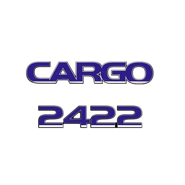 Emblema Ford Cargo 2422 - Kit