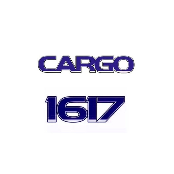 Emblema Ford Cargo 1617 - Kit