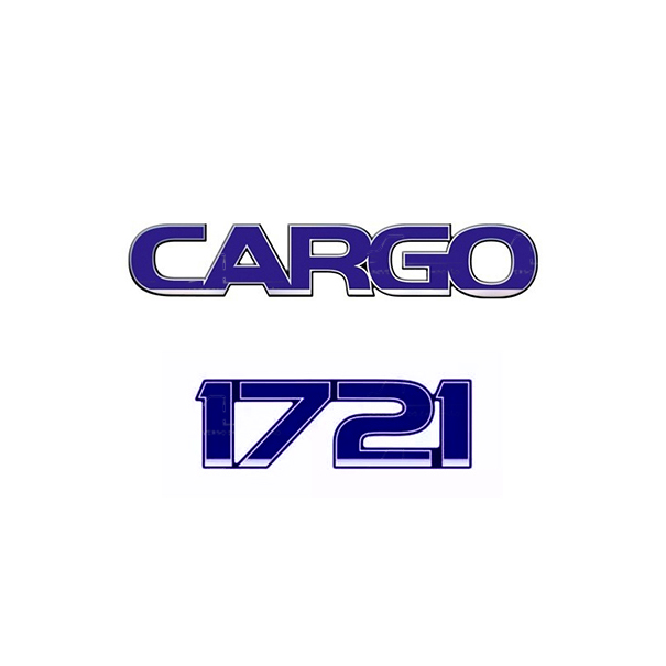 Emblema Ford Cargo 1721 - Kit