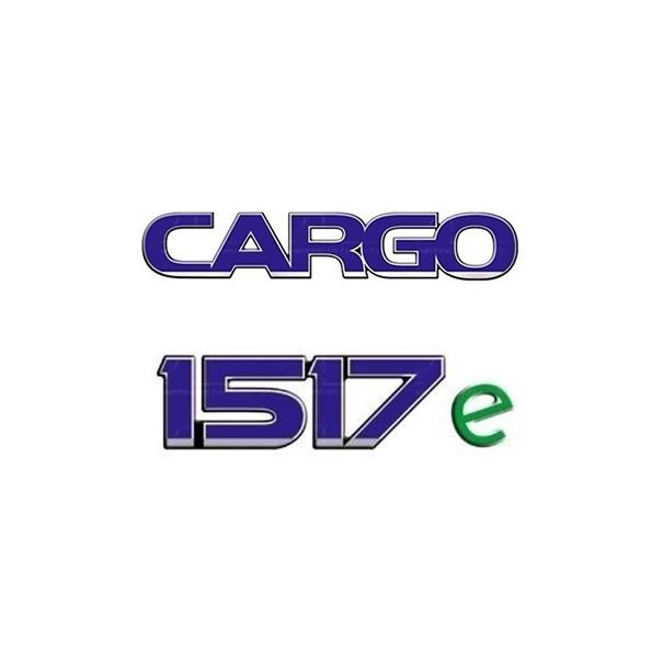 Emblema Ford Cargo 1517E - Kit