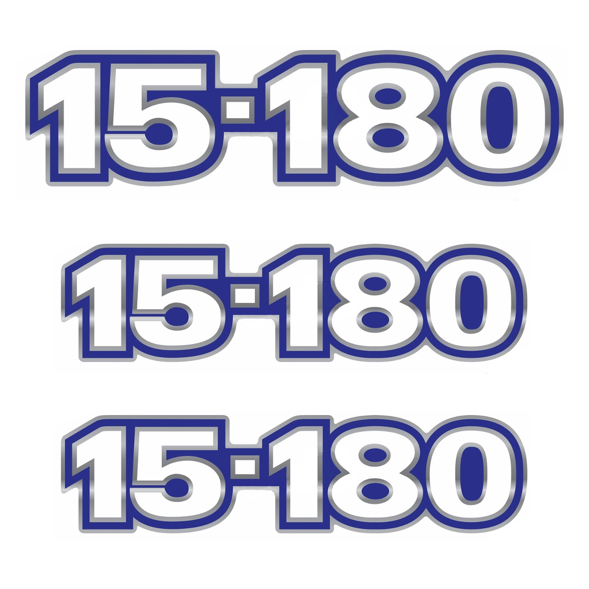 Emblema Caminhão Vw 15180 - Kit