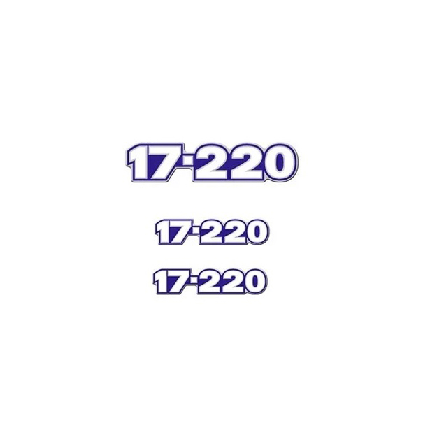 Emblema Caminhão Vw 17220 - Kit