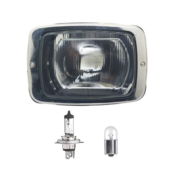 Farol Mb 608 708 Com Lâmpadas 12V - Direito