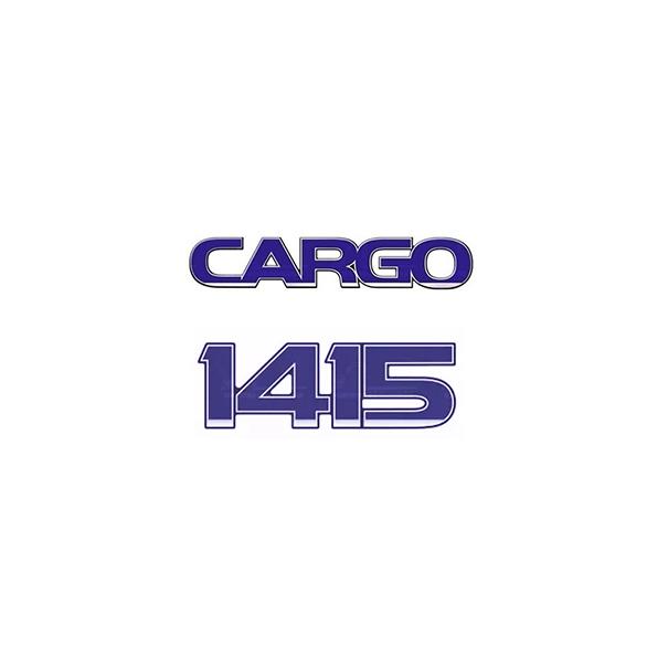 Emblema Ford Cargo 1415 - Kit
