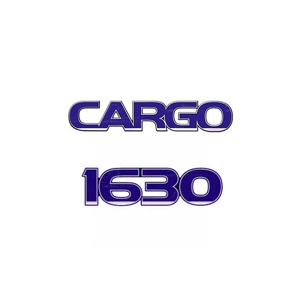 Emblema Ford Cargo 1630 - Kit