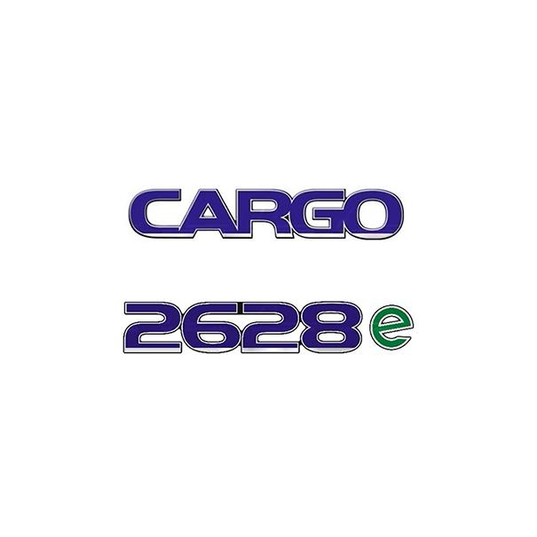 Emblema Ford Cargo 2628E - Kit