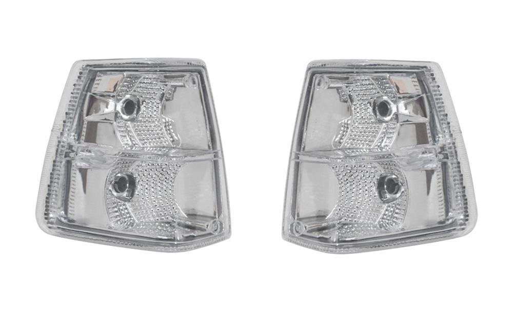 Lanterna Seta Volvo Nl Edc - Modelo Esportivo Cristal (Par)