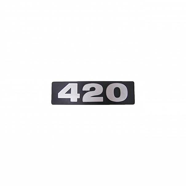 Emblema Scania 420