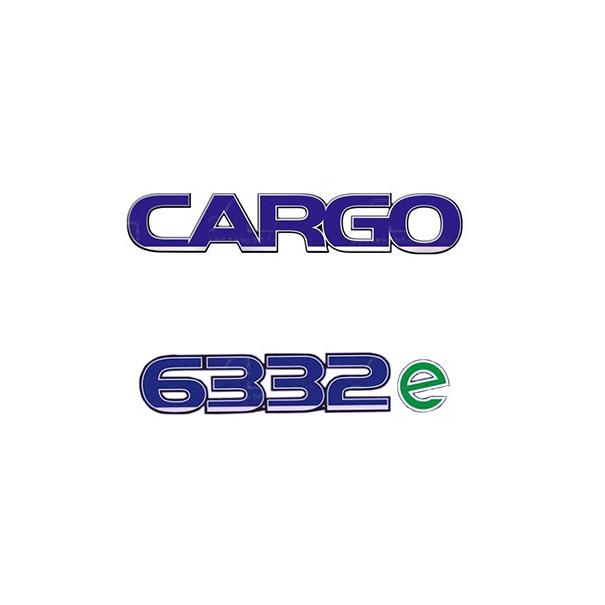 Emblema Ford Cargo 6332E - Kit