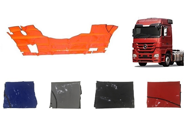 Tapete Mb Actros Bicudo - Cabine Leito