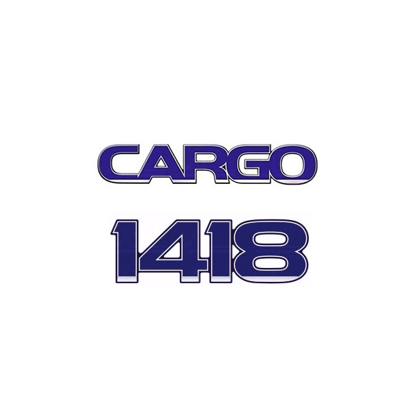 Emblema Ford Cargo 1418 - Kit