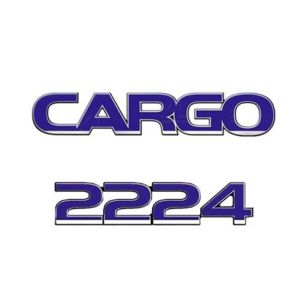 Emblema Ford Cargo 2224 - Kit