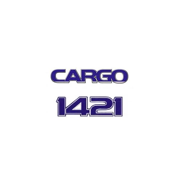 Emblema Ford Cargo 1421 - Kit