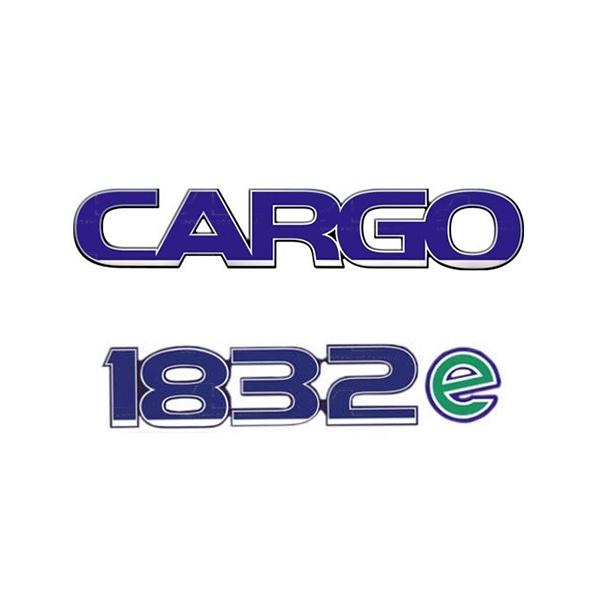 Emblema Ford Cargo 1832E - Kit