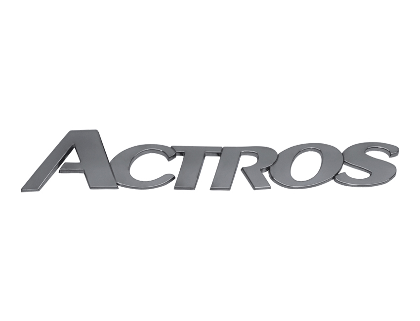Emblema MB Actros Cromado