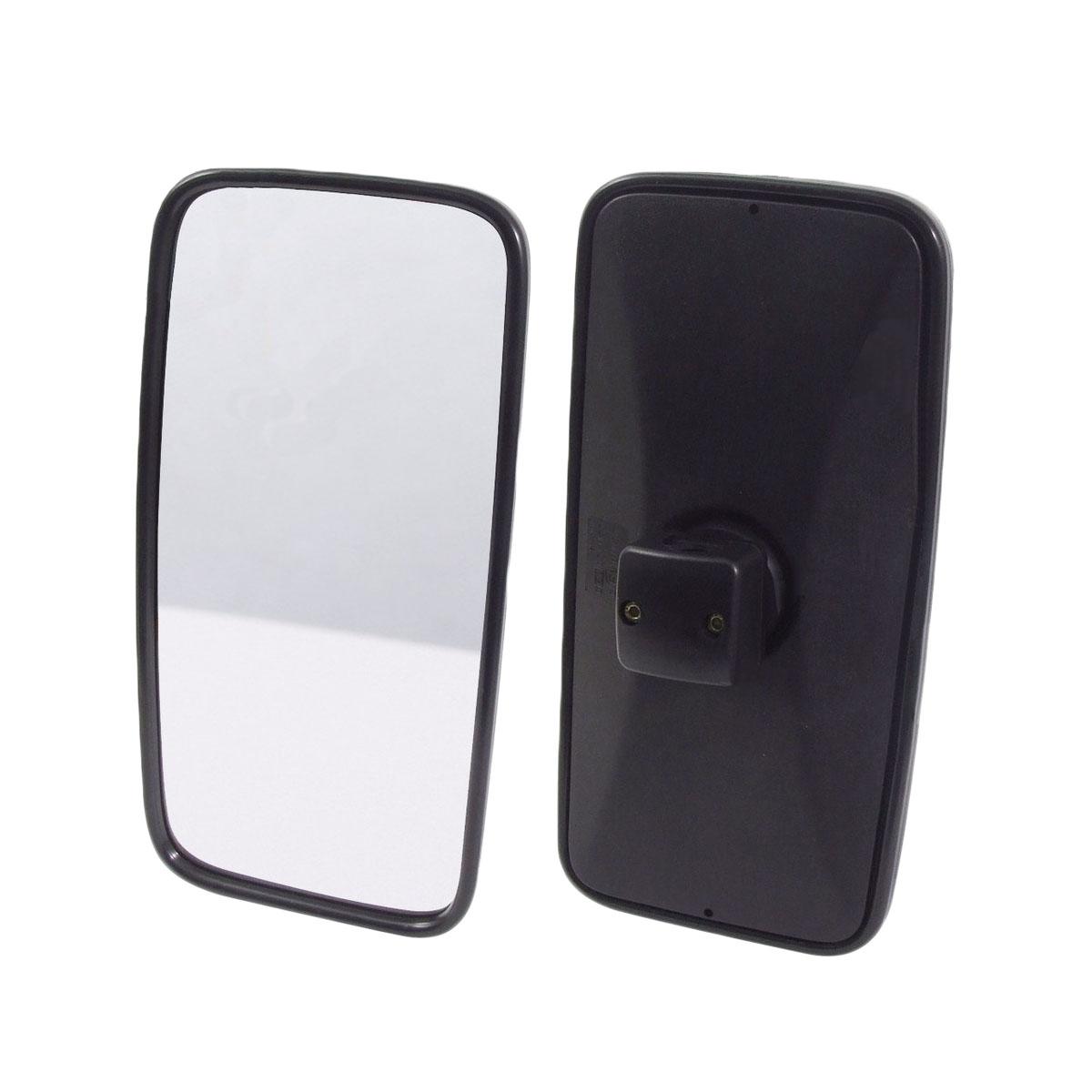 Espelho Retrovisor Mb Axor Atego Manual Vidro Plano - 36X19 Cm
