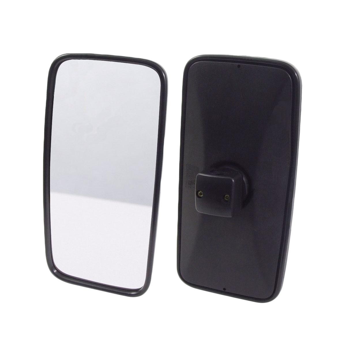 Espelho Retrovisor Mb Axor Atego Manual Vidro Convexo - 36X19 Cm